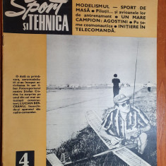 sport si tehnica aprilie 1973-pilotii si avioanele de antrenament,motociclism