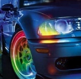 Capac ventil LED - Multicolor