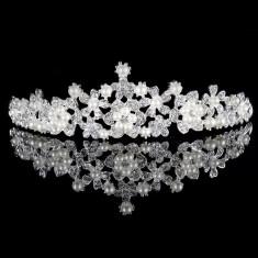 Diadema / Tiara mireasa Flower Pearl