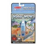 Carnet de colorat cu apa magica Oceanul, Melissa and Doug