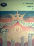 """Eminescu - Teatru Vol. I """"2352"""""""