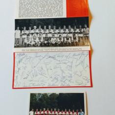 Foto (sezonul 1971/1972) fotbal + pliant autografe printate - FC KOLN
