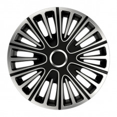 Set capace roti 15 inch Argo Motion Argintiu si Negru