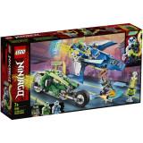 LEGO® Ninjago Masinile rapide de curse ale lui Jay si Lloyd 71709