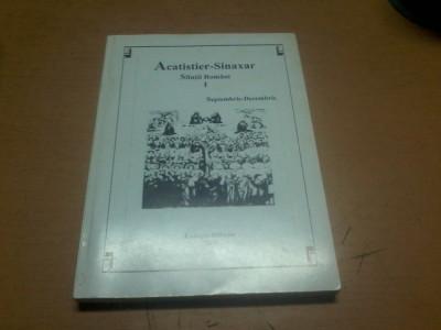 Acatistier Sinaxar Sfintii romani vol. I COLECTIA iSIHASM R. VALCEA 2000 0003 foto