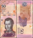 = VENEZUELA - 50 BOLIVARES – 18 – 05 - 2018   - UNC -  NECIRCULATE    =