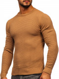 Pulover maro bărbați Bolf 4604