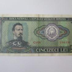 Romania 50 Lei 1966 in stare buna