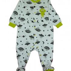 Salopeta / Pijama bebe imprimeu martieni Z86