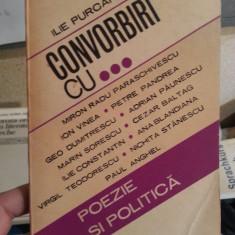 CONVORBIRI CU..-ILIE PURCARU