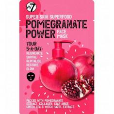 Masca hranitoare W7 Super Skin Superfood Pomegranate Face Mask 18 g