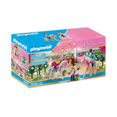 Playmobil Princess - Lectii regale de calarie