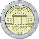 NOU - Estonia moneda comemorativa 2 euro 2019 - Universitatea Tartu - UNC