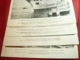 7Fotografii tiparite ww2- Razboi in Vest ,dim18 x24 cm - material de propaganda