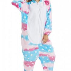 PJM176-45 Pijama intreaga kigurumi, model unicorn