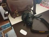 Vand Nikon D3400 cu geanta anti-soc si card de memeorie de 128 de gb