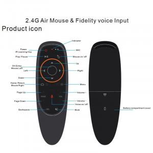 Telecomanda Air Mouse Voice Control, Gyro Sensing, USB Receiver