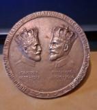 Medalie Carol I si Ferdinand I 1928, rara