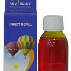 Cerneala CANON color bulk Refill Sky CL-541-Y ( Yellow - Galbena ) CL541 - 100...