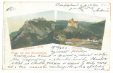 2496 - BRAN, RASNOV, Litho, Romania - old postcard - used - 1903