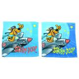 Set 2 prosoape pentru baietei 30 x 30 cm Disney Scooby-Doo WBSD-FT39601, Multicolor
