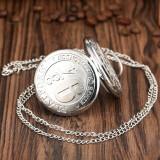 Ceas De Buzunar - HARRY POTTER - Platforma 9 3/4 Culoare Argintiu