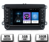 Navigatie Volkswagen, Skoda, Seat, QUADCORE MTK 1GB RAM + 16GB ROM, 7 Inch - AD-BGPVW7MTK