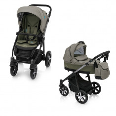 Baby Design Husky Winter Pack 04 Olive 2018 - Carucior Multifunctional 2 in 1 foto