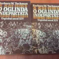 O OGLINDA INDEPARTATA - URGISITUL SECOL XIV - Barbara W.Tuchman  ( 2 Volume )