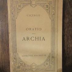 ORATIO PRO ARCHIA - CICERO