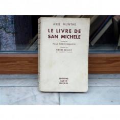 Le Livre de San Michele , Axel Munthe
