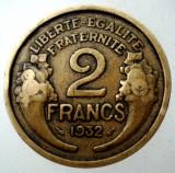 7.249 FRANTA 2 FRANCS FRANCI 1932