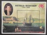 Cumpara ieftin Korea 1988 corabi, vapoare, centenar Australia, colita mnh, Nestampilat