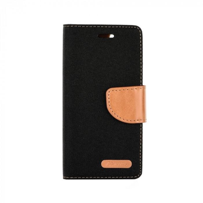 Husa SAMSUNG Galaxy S9 - Denim Canvas TSS, Negru