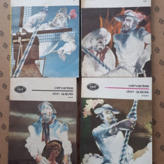 DON QUIJOTE CERVANTES × 4 volume