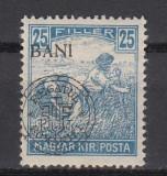 1919 EMISIUNEA CLUJ ORADEA SECERATORI EROARE MONOGRAM DEPLASAT SARNIERA, Nestampilat