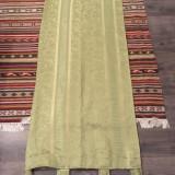 Set draperii clasice culoare verde oliv - 2 bucati