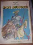 Carte veche Copii,MIGUEL DE CERVANTES-DON QUIJOTE,IL.EUGEN TARU,1986,F.B,T.GRAT