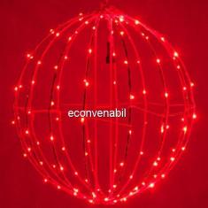 Glob luminos Craciun 240LED 50cm LEDuri Rosii Prelungibil 1001R CL
