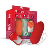 Cumpara ieftin Ou Vibrator MOOVEEggRemoteControl Red
