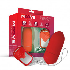 Ou Vibrator MOOVEEggRemoteControl Red