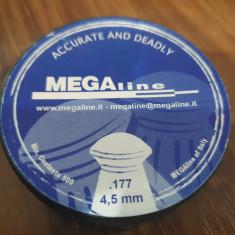 Alice/Pelete arma aer comprimat MegaLine, cal. 4,5mm, cap rotund