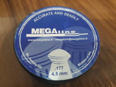 Alice/Pelete arma aer comprimat MegaLine, cal. 4,5mm, cap rotund foto