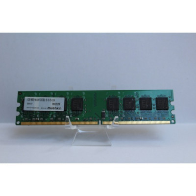 Memorie desktop Mushkin 1 GB DDR2 800 MHZ SP2-6400 foto