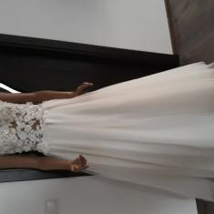 Rochie de mireasa, XS/S, Ivoire