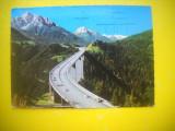 HOPCT 50358  PODUL EUROPA TIROL AUSTRIA -STAMPILOGRAFIE-CIRCULATA
