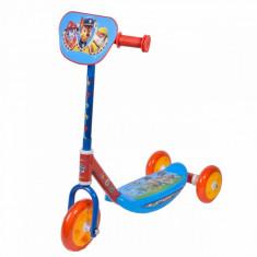 Trotineta cu 3 roti, model Paw Patrol, multicolor