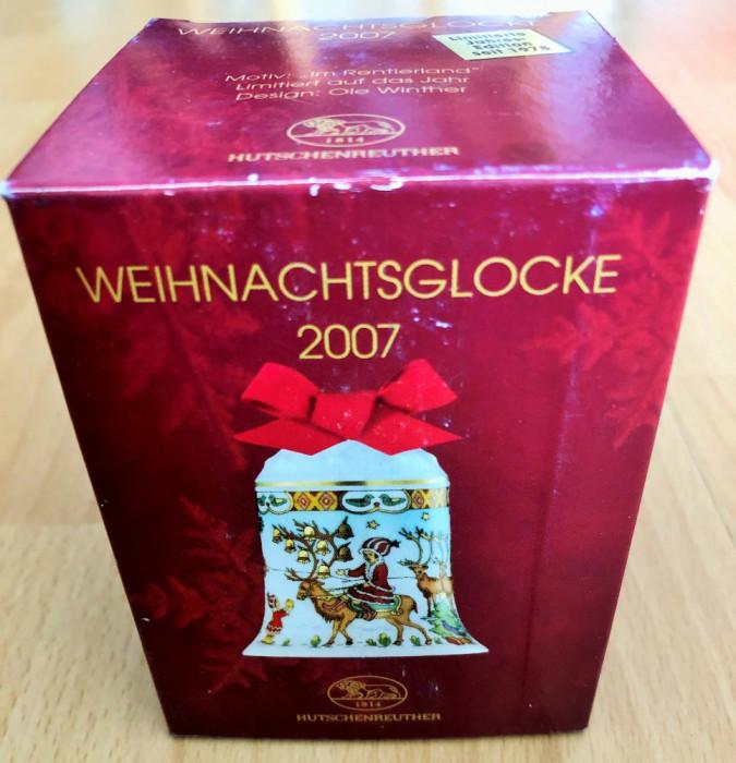 Clopotel - Hutschenreuther - cutie originala - 2007 - NOU !