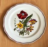 Platou pentru tort - Villeroy an Boch - Aranjament floral - Charlotte Bettin