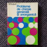 M. Ișut - Probleme de chimie generală și anorganică, 1981